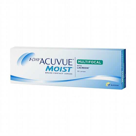 1-Day Acuvue Moist Multifocal, 30-pk