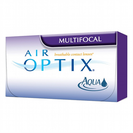 Air Optix Aqua Multifocal, 6-pk