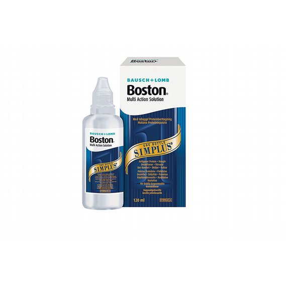 Boston Simplus Multi-Action Solution, 120 ml