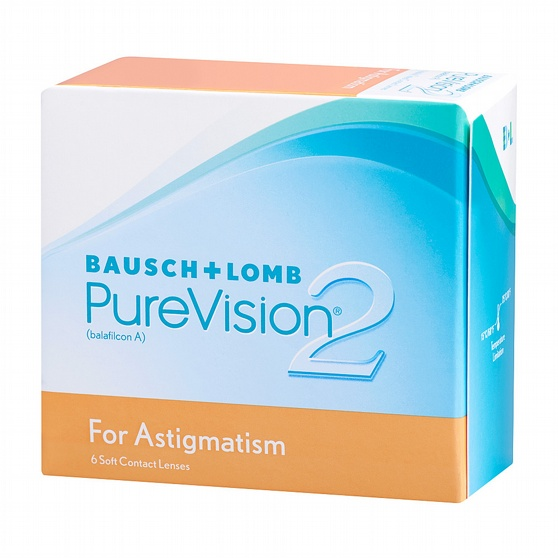 PureVision2 HD For Astigmatism, 6-pk