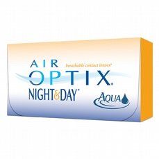 Air Optix Night & Day Aqua, 6-pk
