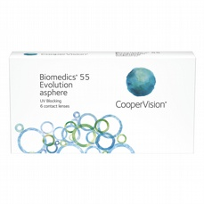 Biomedics 55 Evolution, 6-pk