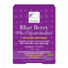 Blue Berry Plus Ögonvitamin 120t
