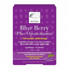 Blue Berry Plus Ögonvitamin 60t