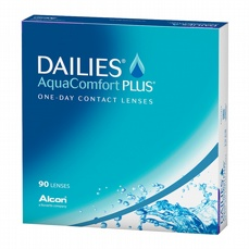 DAILIES AquaComfort Plus, 90-pk