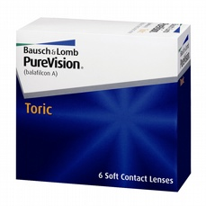PureVision Toric For Astigmatism, 6-pk